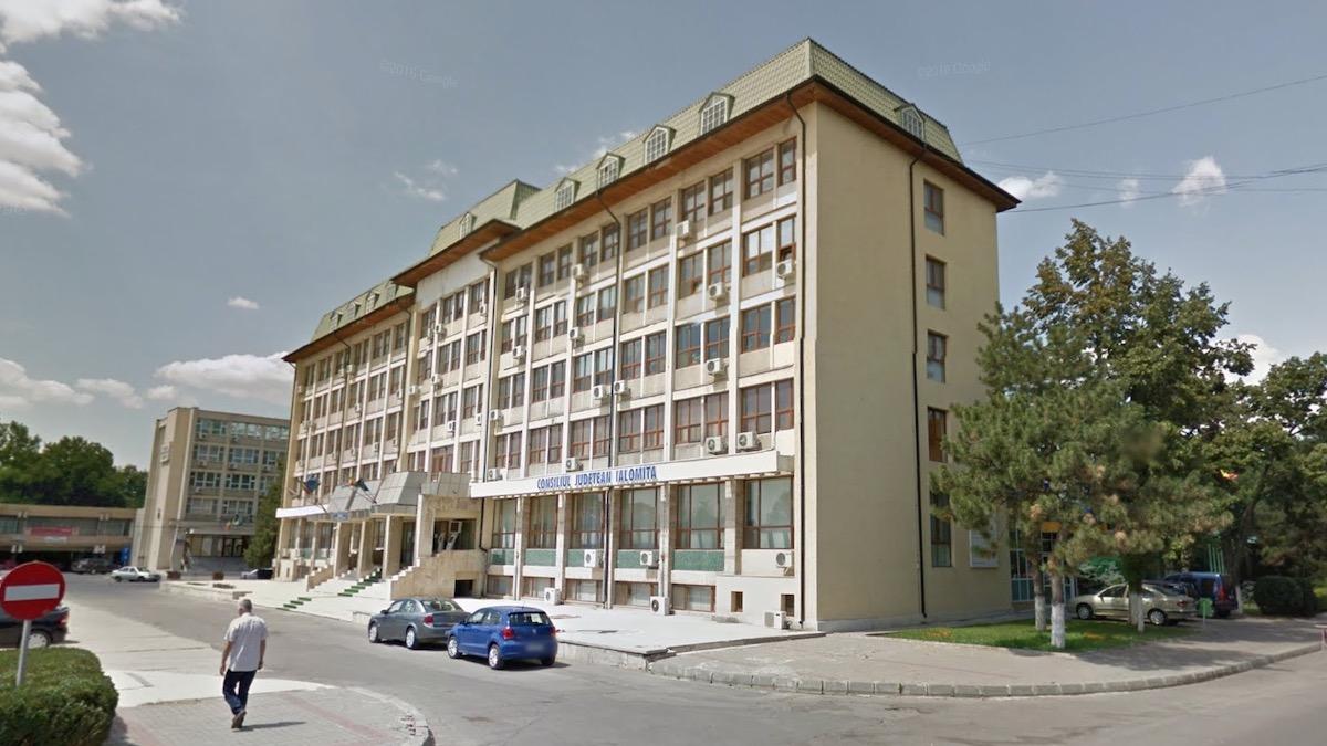 Consiliul Județean Ialomița. FOTO G. M.