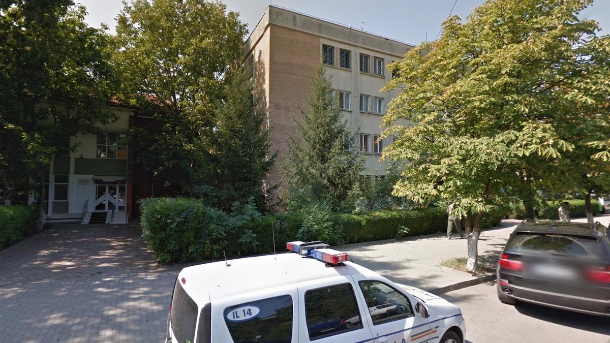 Poliția Municipiului Slobozia. FOTO G. M.