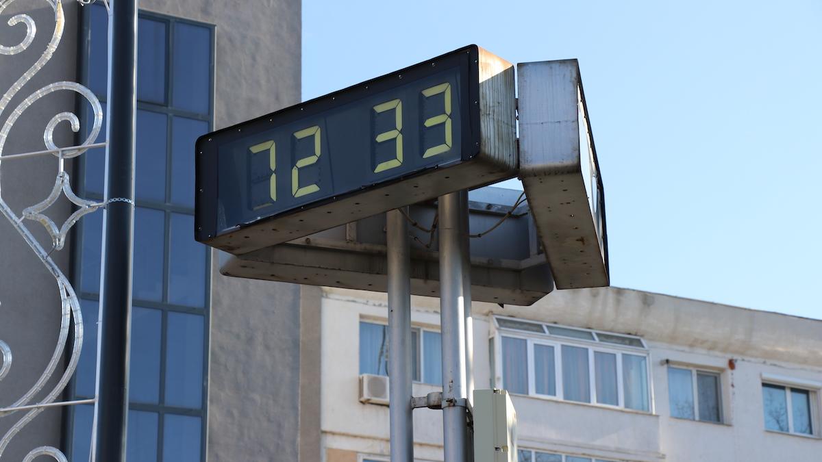 Ceasurile din Slobozia. FOTO Adrian Boioglu