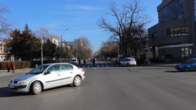Centrul municipiului Slobozia. FOTO Adrian Boioglu