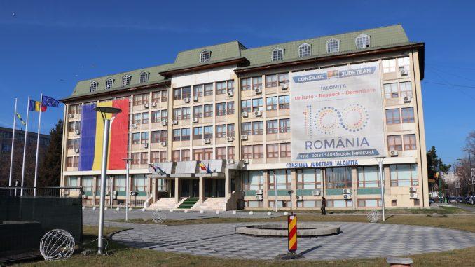 Consiliul Județean Ialomița. FOTO Adrian Boioglu