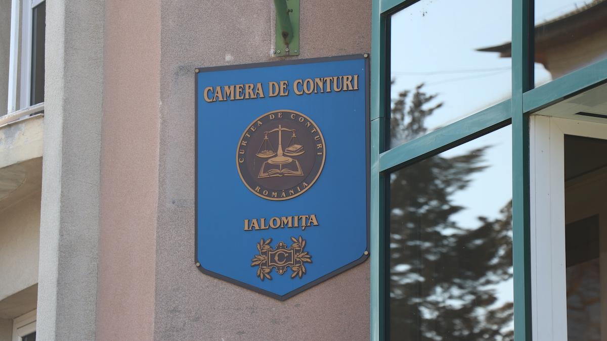 Camera de conturi Ialomița. FOTO Adrian Boioglu