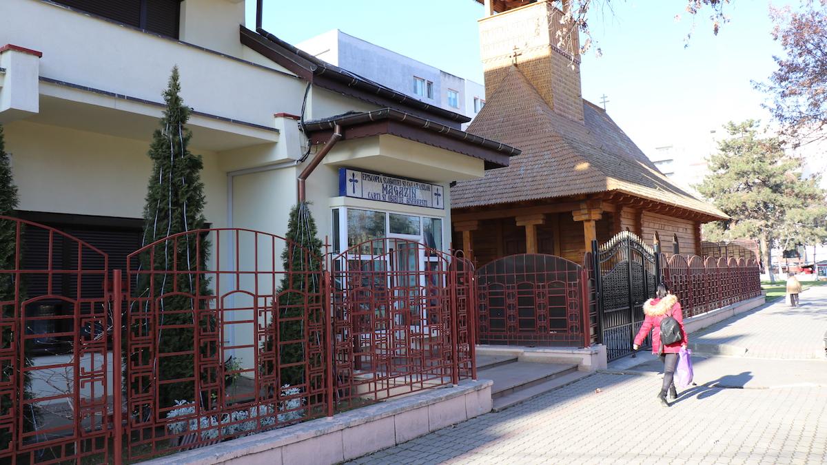 Magazinul Episcopiei Sloboziei. FOTO Adrian Boioglu