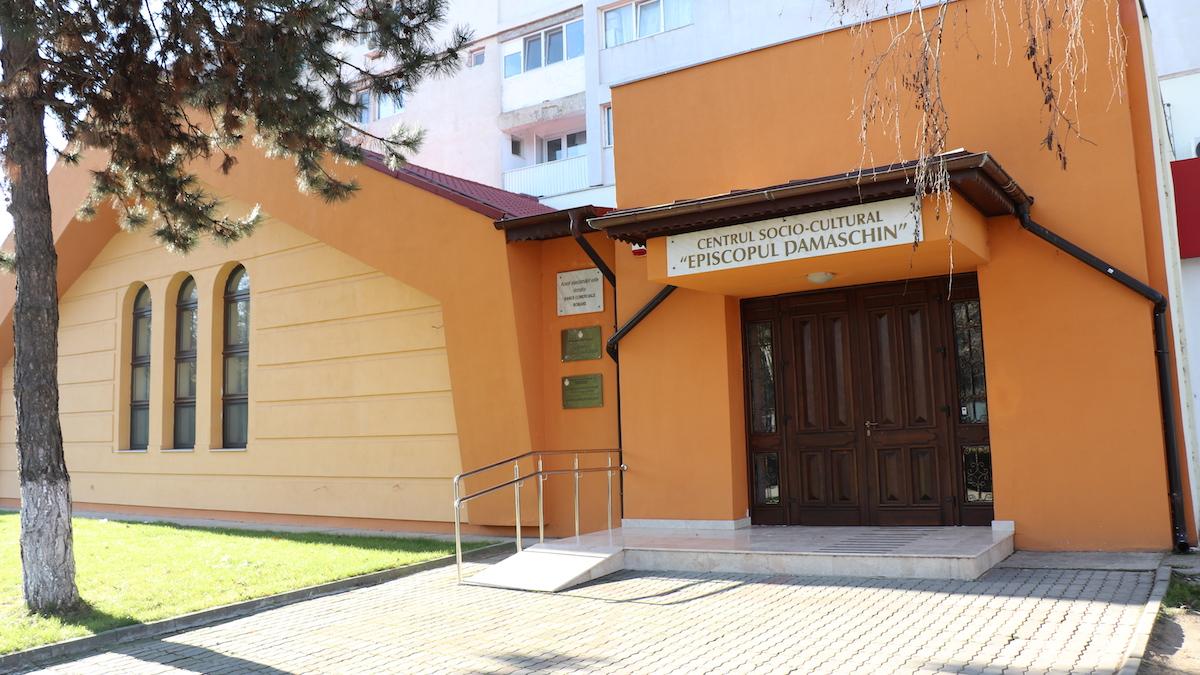 "Centrul Socio-Cultural ""Episcopul Damaschin"" din Slobozia. FOTO Adrian Boioglu"