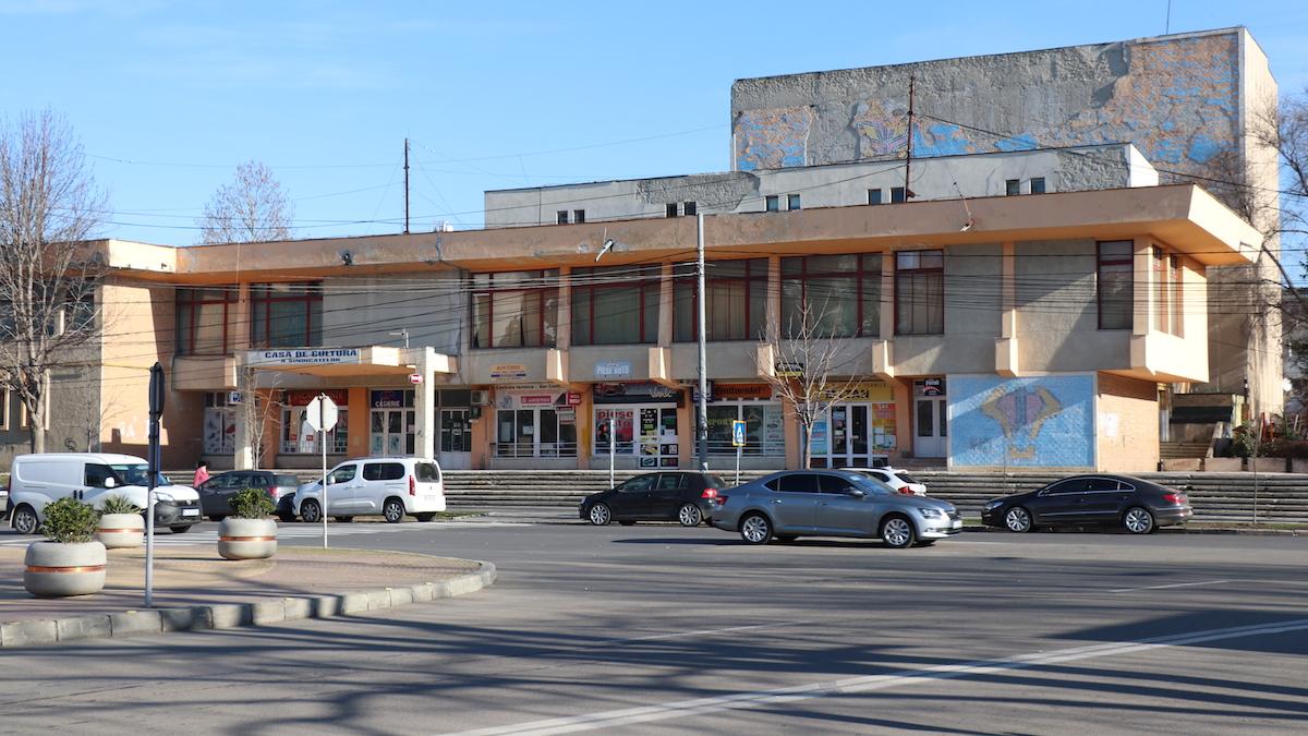 Casa de Cultură a Sindicatelor din Slobozia. FOTO Adrian Boioglu
