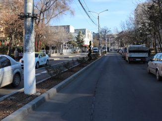 Trafic rutier în Slobozia. FOTO Adrian Boioglu