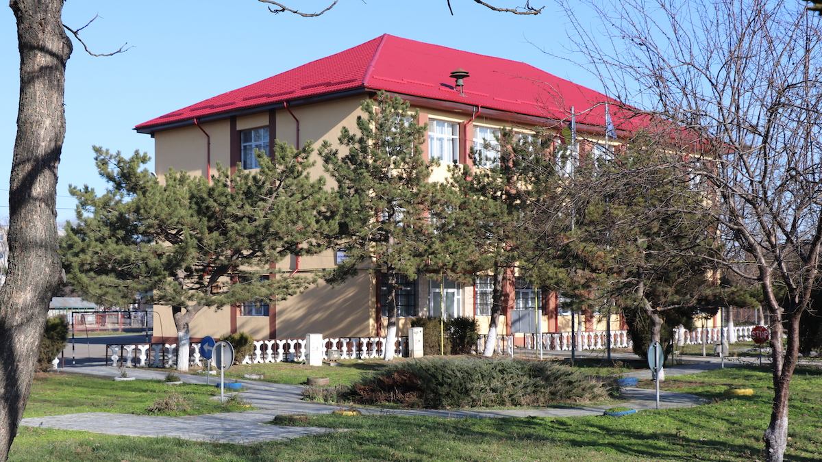 Școala gimnazială Gheorghe Lazăr, Slobozia. FOTO Adrian Boioglu