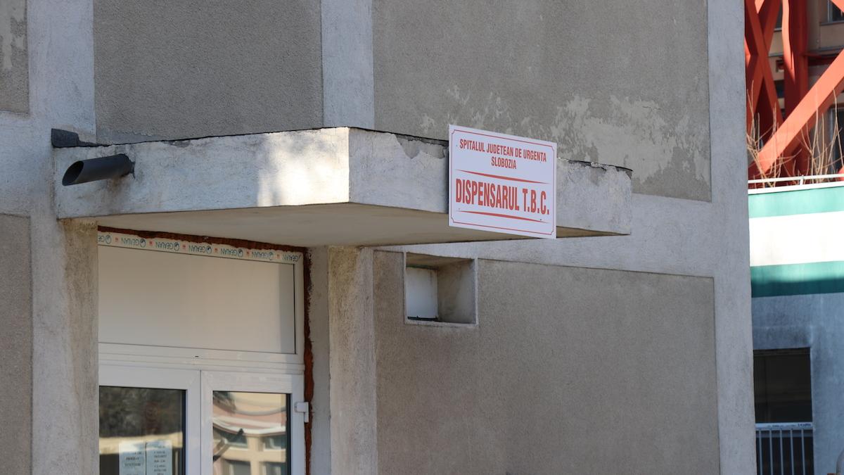Dispensarul TBC Slobozia. FOTO Adrian Boioglu
