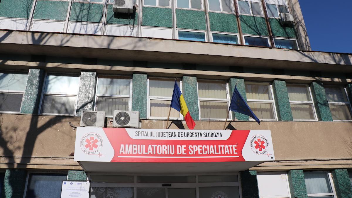 Ambulatoriul Spitalului Județean de Urgență Slobozia. FOTO Adrian Boioglu