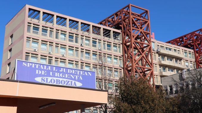 Spitalul Județean de Urgență Slobozia, Ialomița. FOTO Adrian Boioglu