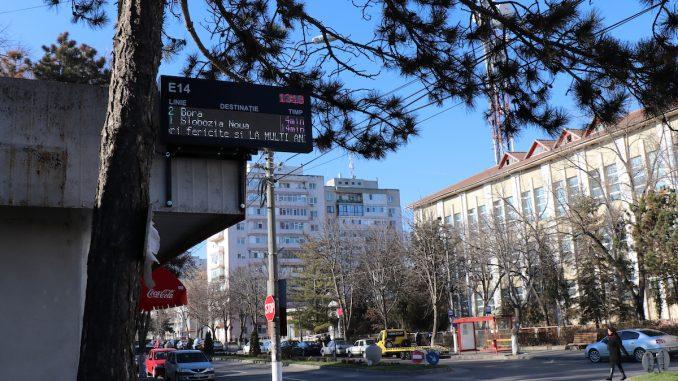 Stație de autobuz în Slobozia. FOTO Adrian Boioglu