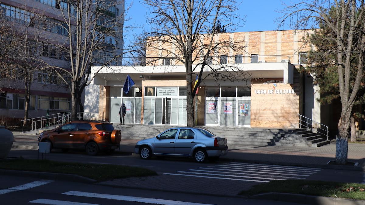 Casa Municipală de Cultură Slobozia. FOTO Adrian Boioglu