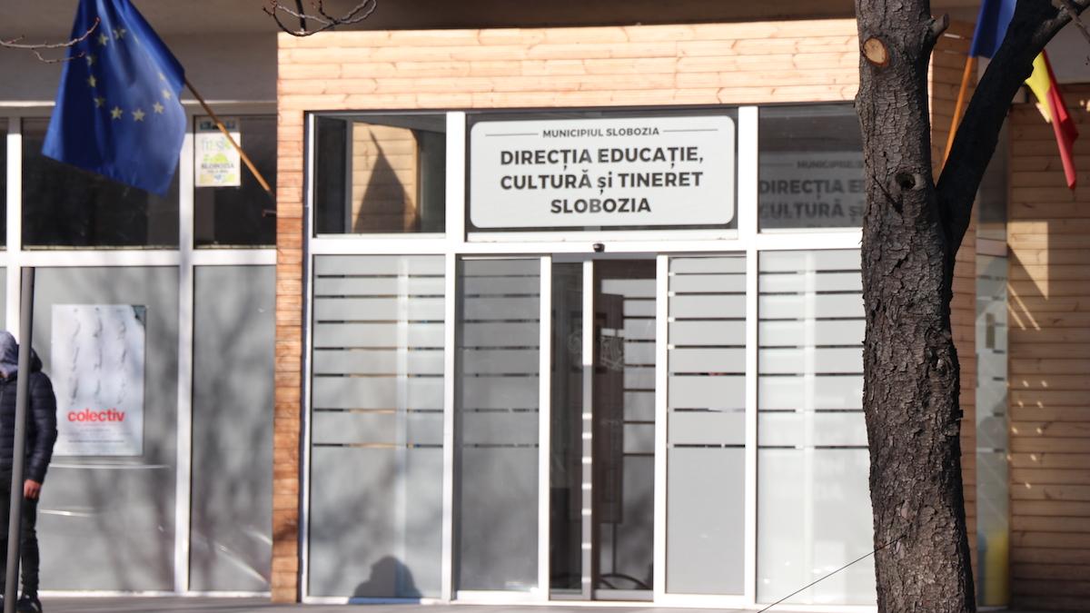 Direcția Educație, Cultură și Tineret Slobozia. FOTO Adrian Boioglu