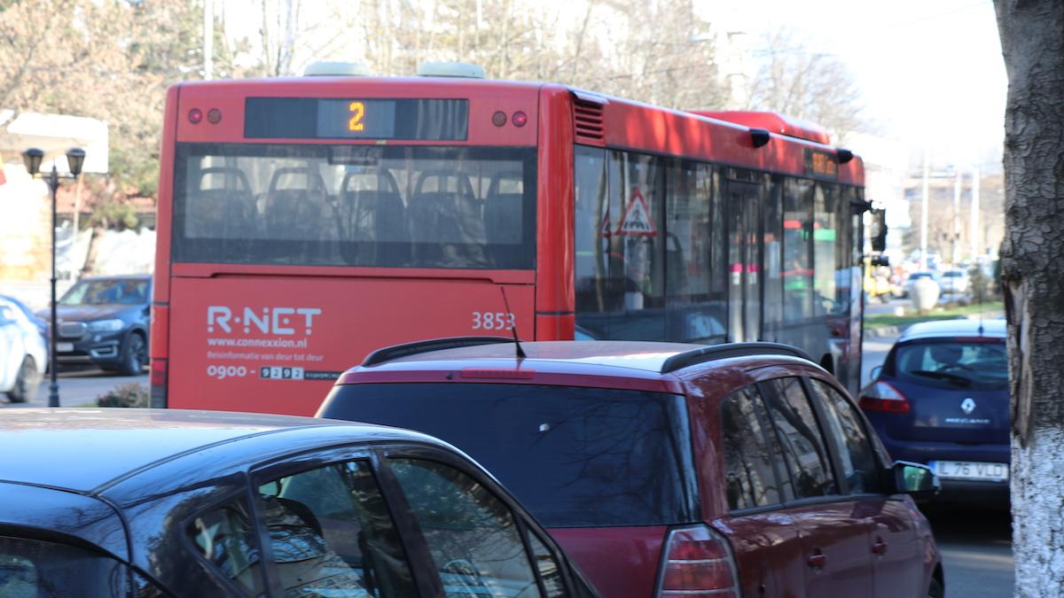 Autobuz în Slobozia. FOTO Adrian Boioglu