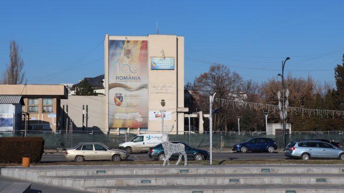 Primăria municipiului Slobozia. FOTO Adrian Boioglu