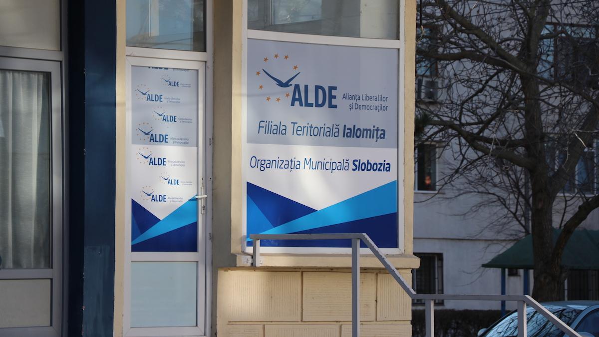 Sediul ALDE Slobozia, Ialomița. FOTO Adrian Boioglu