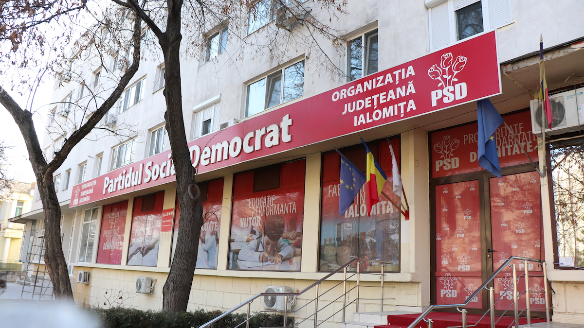 Partidul Social Democrat (PSD) Ialomița. FOTO Adrian Boioglu