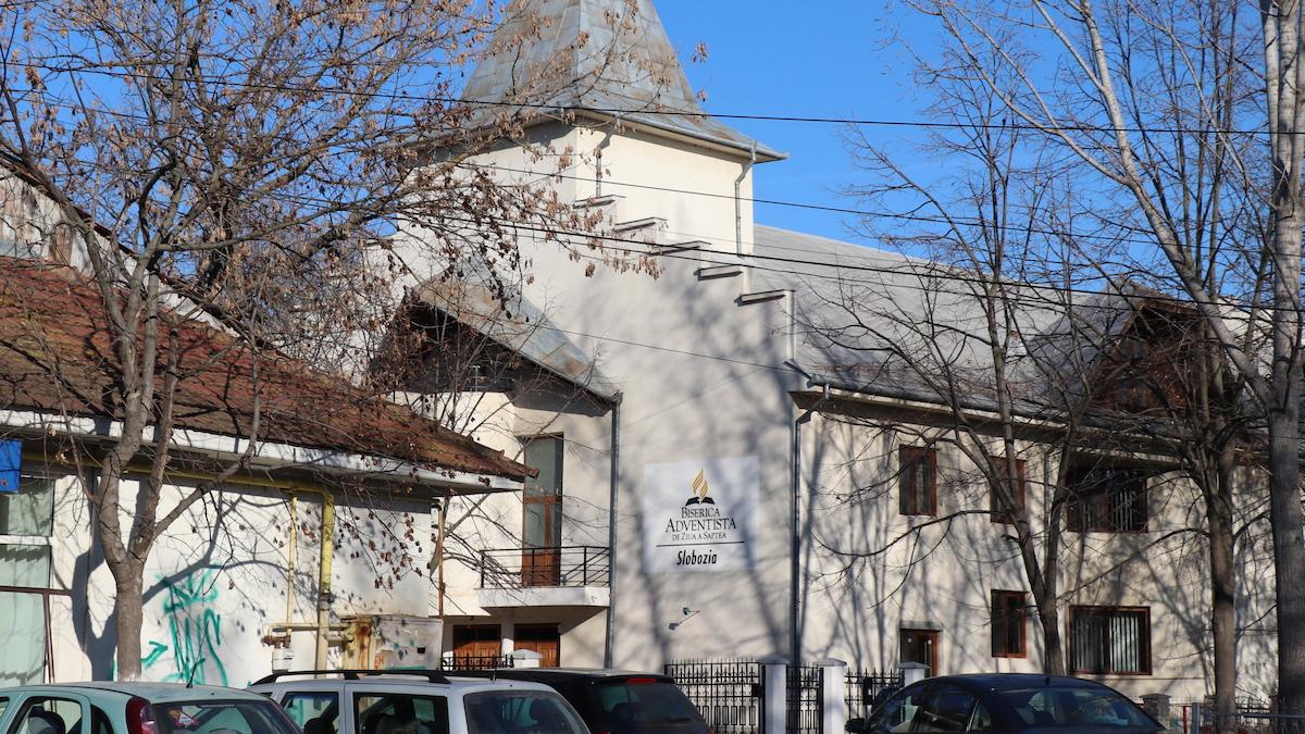 Biserica Adventistă din Slobozia. FOTO Adrian Boioglu