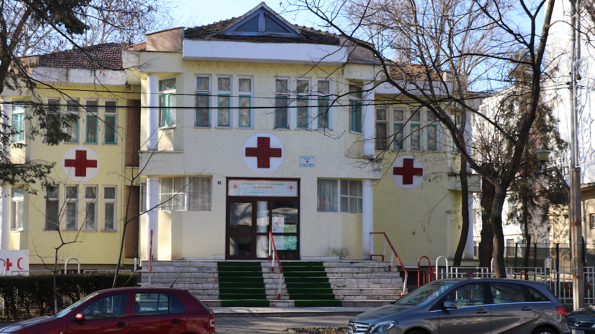 Crucea roșie, filiala Ialomița. FOTO Adrian Boioglu