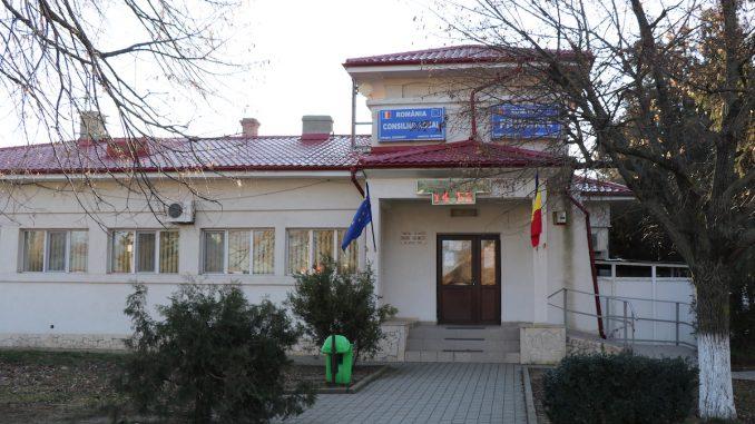 Primăria orașului Căzănești, Ialomița. FOTO Liliana Boioglu