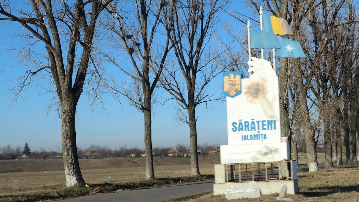 Localitatea Sărățeni, Ialomița. FOTO Liliana Boioglu