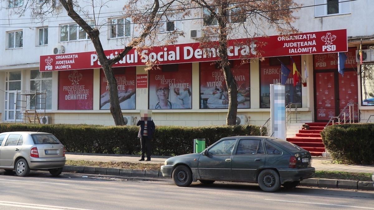Sediul PSD Ialomița. FOTO Adrian Boioglu