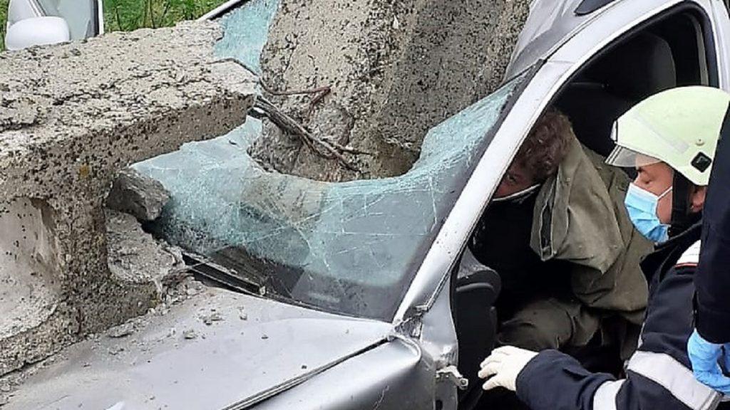 Accident rutier la Caldarusanca. FOTO ISU Ialomita