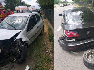 accident,DN2A, Slobozia