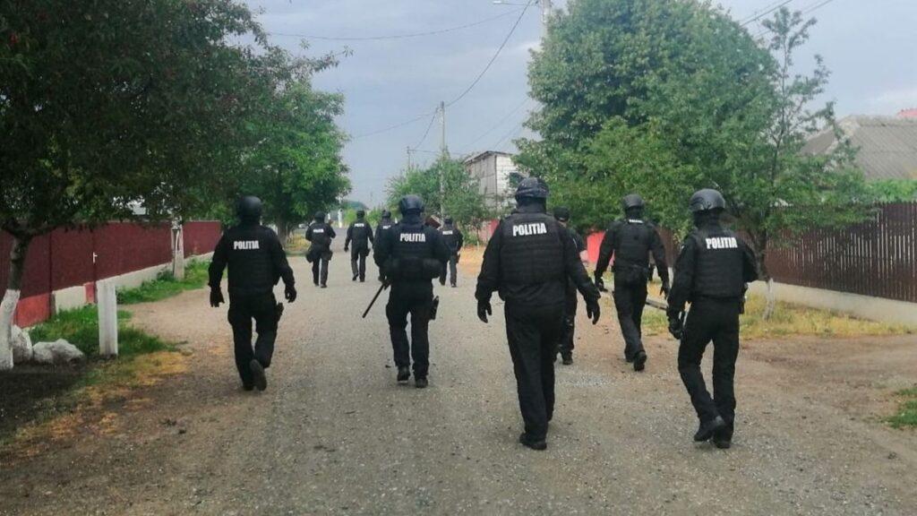 Razie de amploare la Căzănești. FOTO IPJ Ialomița
