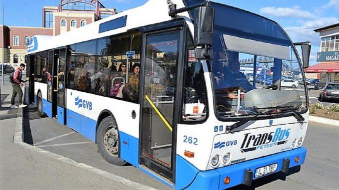 Transportul local de călători a revenit la programul normal în Fetești. FOTO Primăria Fetești