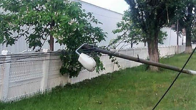 Natura s-a dezlănțuit în municipiul Slobozia. FOTO Primăria Slobozia