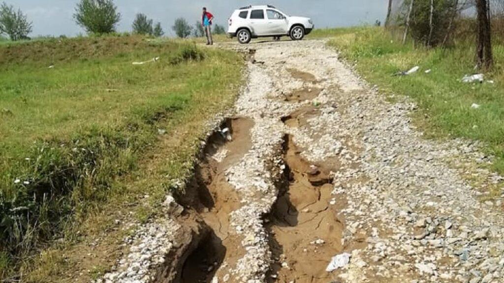 Cartierul Bora a fost grav afectat de precipitațiile abundente ale ultimelor zile! FOTO Primăria Slobozia