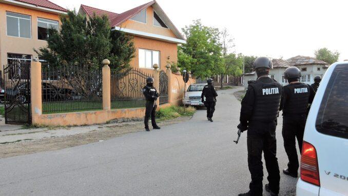 Acțiune de amploare cu efective mărite la Bărbulești, FOTO IPJ Ialomița