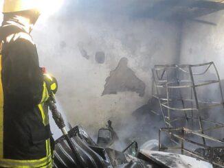 Incendiu la o casă din localitatea Movila. FOTO ISU Ialomița