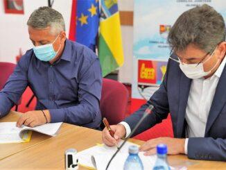 Patru noi contracte finanțate de ADI Ialomița prin Programul Județean de Dezvoltare Locală 2020. FOTO CJ Ialomița